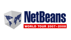 NetBeans World Tour 2007-2008 logo